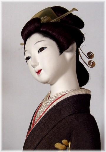Japanese Antique Doll Of Buke Musume Japanese Dolls