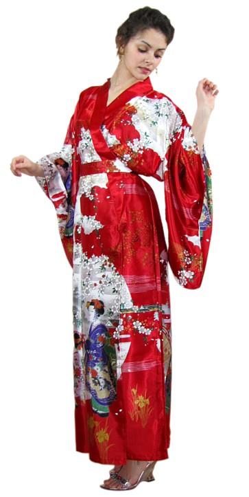 japanese womans kimono modern asakusa japanese style