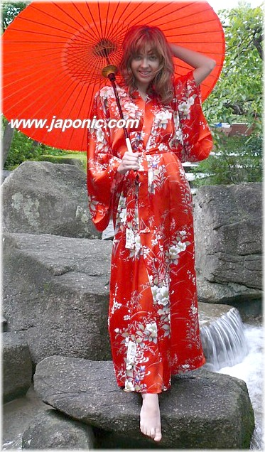 Traditional japanese woman