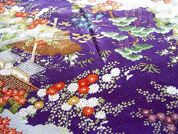 Japanese Traditional Silk Kimono 1960 S Japanese Woman